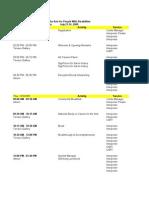 Natl Summit Staff Assignments 062509 Web