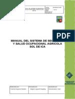 Manual Del Sistema de Seguridad y Salud Ocupacional Agricola Sol de Ica (1)