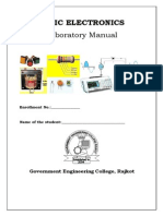 Basic Electronics Lab Manual