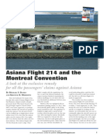 Danko & Meredith Asiana Flight 214 and the Montreal Convention Plaintiff Article