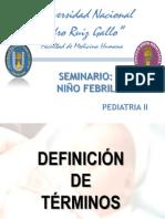 SEMINARIO Niño - Febril