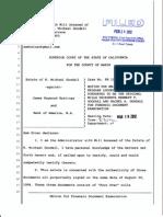 Goodall Motion for Forensic Document Examiner