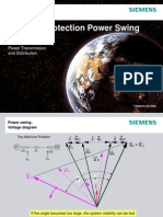 SIEMENS - Distance Protection Power Swing