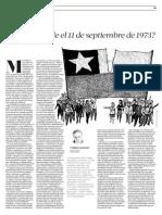 CHILE (CRISTIÁN GAZMURI, ERA INEVITABLE EL 11 DE SEPTIEMBRE DE 1973)