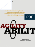 Agility Ability