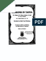 Rabbi Shneur Zalman of Liadi - Lessons in Tanya Vol-1
