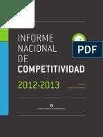 Informe de Competitividad Colombia 2012-2013