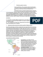 El dominio español en América