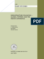 36012186 Infrastructure Financing the Global Pattern and the Indian Experience Reserve Bank India