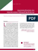 ANGIOGÉNESIS en Neoplasis Hematológicas