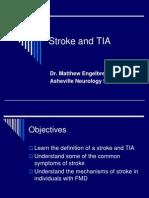 FMD Chat Together 2013 - Dr. Matthew Engelbrecht, Stroke & TIA