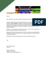 PRESENTACIÓN DE WENDY PRODUCCIONES