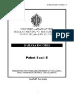 SOAL PAKET 5