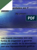 Mapas Mentales en 7 Pasos -By Anun