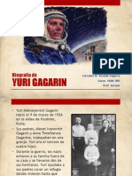 Biografía de Yuri Gagarin