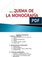 ESQUEMA MONOGRAFÍA