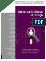 Universal Methods of Design