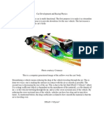 Car Development and Racing Physics