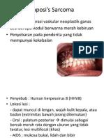Case 1 Kaposi's Sarcoma