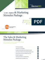 Sales Marketing Stimulus Package eBook Copy