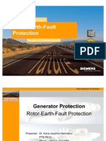7UM62 Rotor Earth Fault Protection