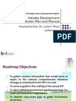 Industry Development Action Plan and Process