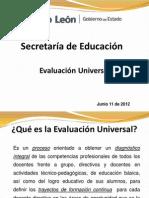 Evaluacion Universal Oficinas Regionales Junio 11