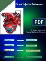 Curvas P-V en Injuria Pulmonar