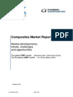 Composites Marktbericht 2012 - Englisch