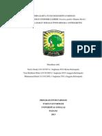 Potensi Tanaman Endemik Gambir (Uncaria Gambir (Hunter) Roxb.) Sumatera Barat Sebagai Fitofarmaka Antidiabetes Norris Sandy Universitas Andalas