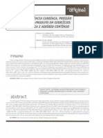 1 Estudo da Frequência Cardíaca, Pressão Arterial e Duplo-Produto em Exercícios Contra-Resistência e Aeróbio Contínuo