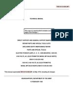 TM 5-6115-456-34P  ELECTRICAL POWER PLANTS 1500KW ELECTROMOTIVE MDL MP 36A-60 HERTZ