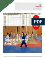Desiging for Sport on School Sites