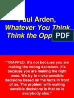 Paul Arden Think the Opposite 052706