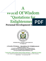 A World of Wisdom - Quotations for Enlightenment