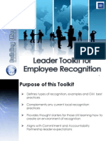 Recognition Toolkit for Leaders