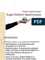 Meeting 4 Electron Spect Auger