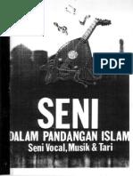 Seni Dalam Pandangan Islam, Seni Vocal, Musik & Tari - Part 01