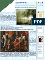 Le mythe de Orphee et Eurydice