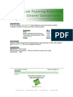 Low Foam Aluminum Cleaner Concentrate - 014