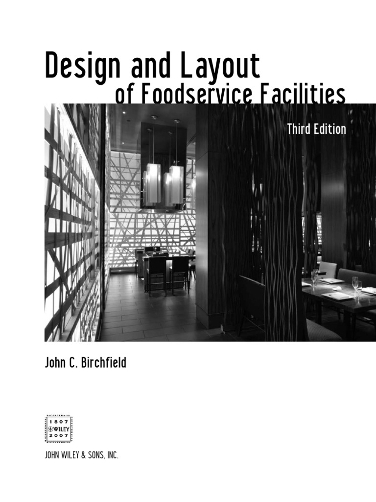 Design and layout of foodservice facilities feasibility