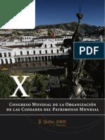 Quito OCPM Actas 2009
