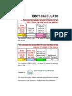 Water Treatment Calculator