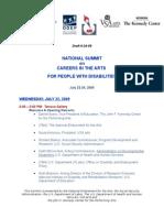 Summit 062409 Agenda
