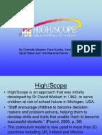 High Scope Presentation