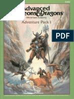 TSR 9202 - I13 - Adventure Pack I