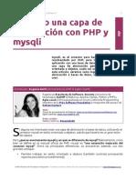PHP - Capa de Abstracción con la API MySQLi