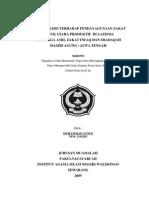 Studi Analisis Terhadap Pendayagunaan Zakat Untuk Usaha Produktif Di LAZISMA Jawa Tengah