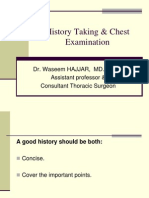 4-History Taking & Chest Examination