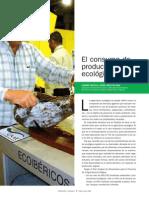 El Consumo de Productos Ecologicos, junio 2008